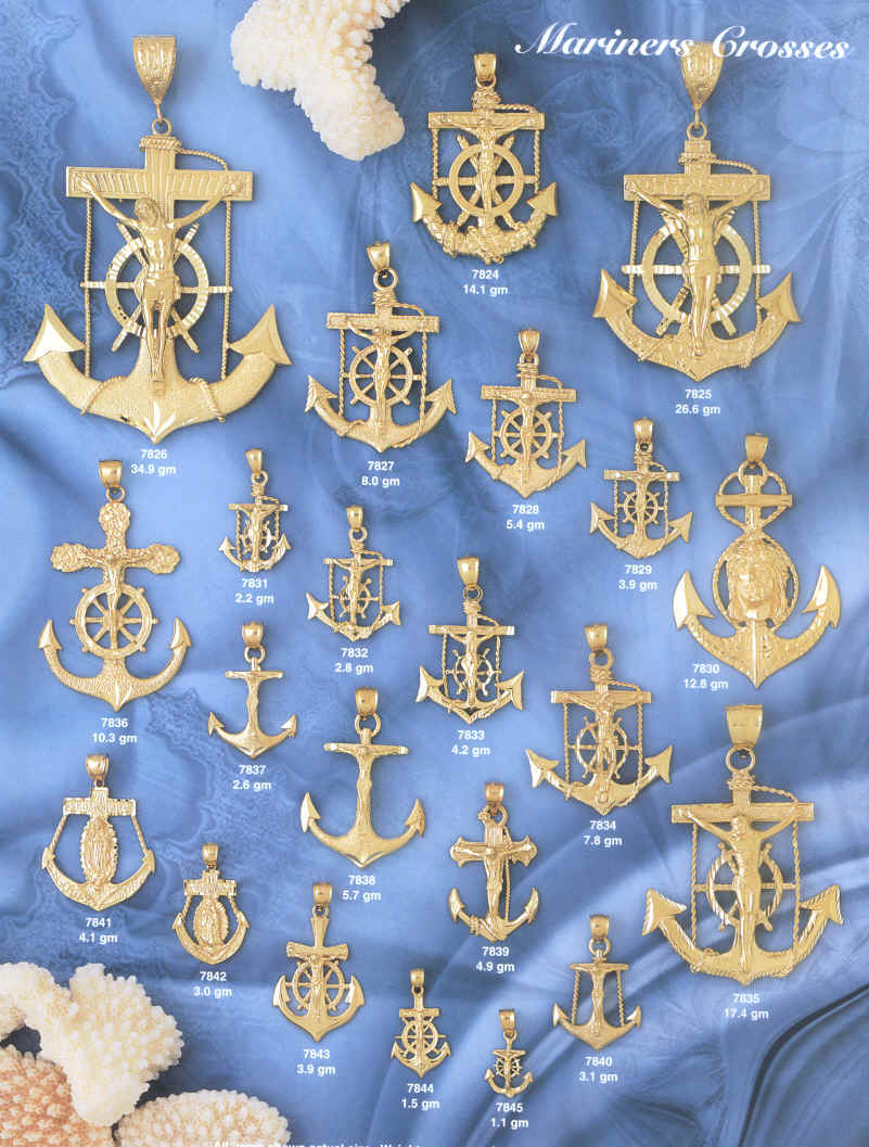 anchors,religious gifts religious jewelry anchor crosses anchor crucifixes