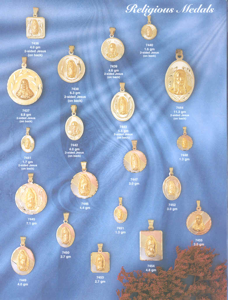 religious medals medal gold